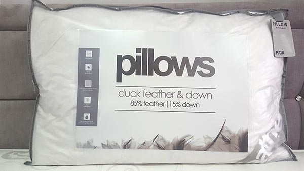 Incredibly comfortable Feather Pillow